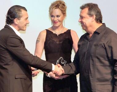 Antonio Banderas, Melanie Griffith, Alain Delon, Sophia Loren y Paz Vega / Festival de Cine de Acapu