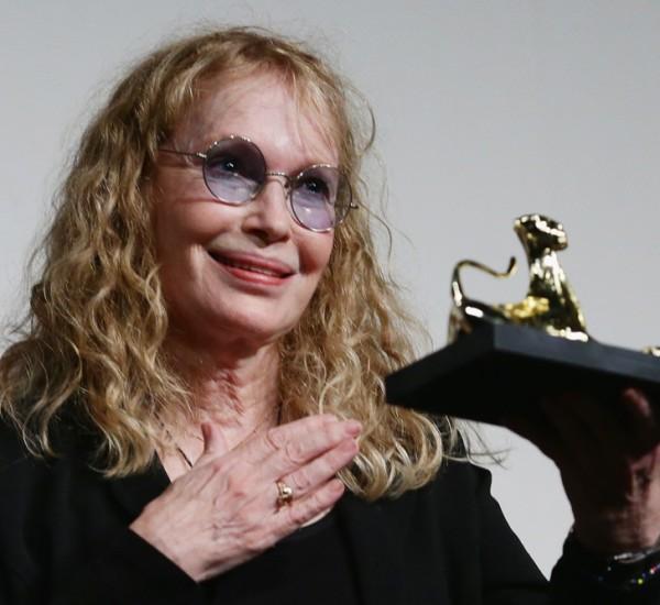 Mia Farrow y Faye Dunaway / Festival del Film de Locarno