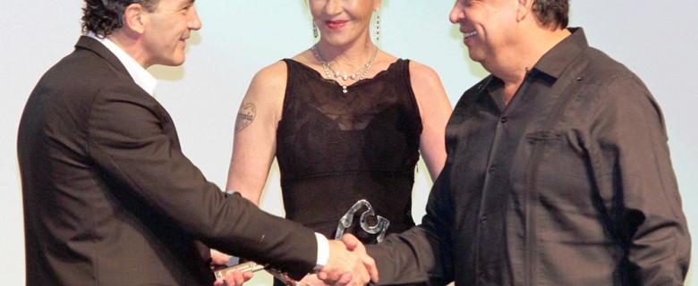 Antonio Banderas, Melanie Griffith, Alain Delon, Sophia Loren and Paz Vega / Festival de Cine de Acapulco
