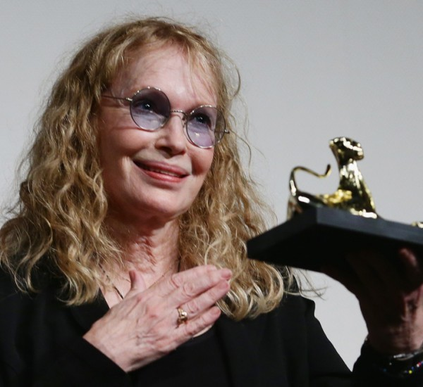 Mia Farrow and Faye Dunaway / Festival del Film de Locarno