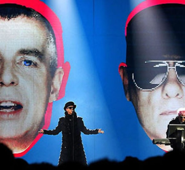 Pet Shop Boys/First show of the tour Saint Petersburg