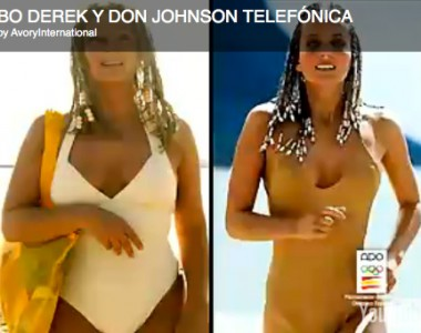Bo Derek and Don Johnson / Telefónica